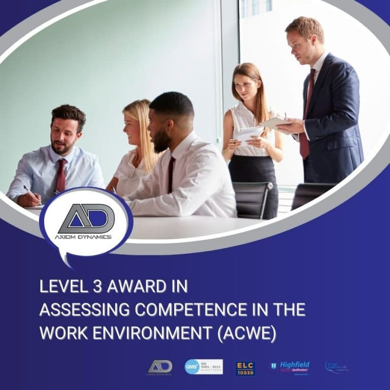 Assessing Competence in the Work Environment