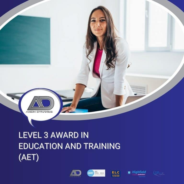 The Level 3 Award in Education and Training Introduction