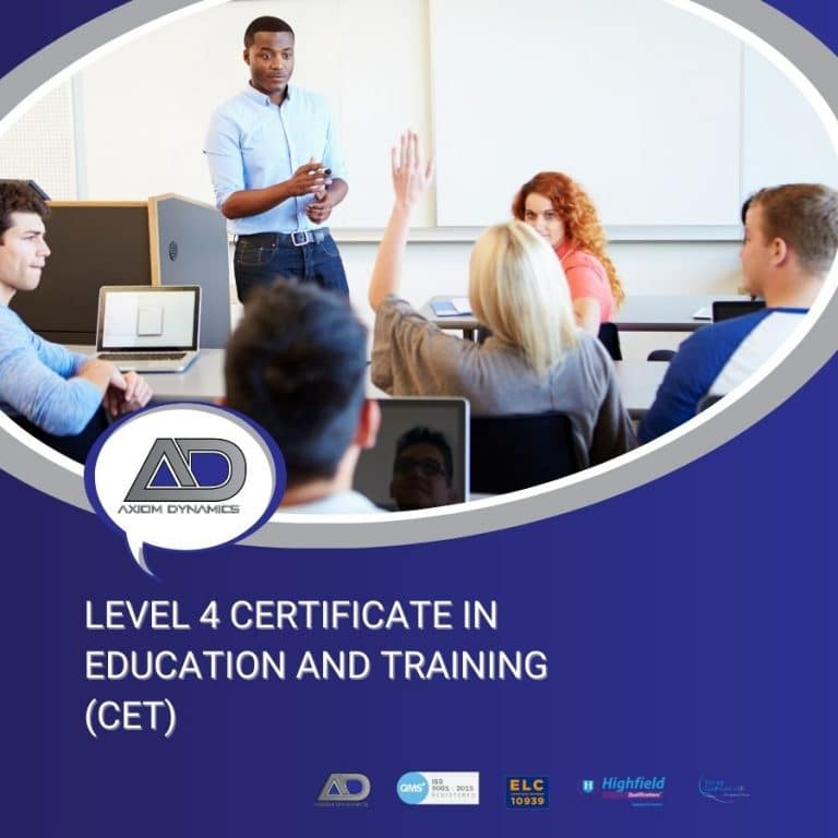 Level 4 Certificate in Education and Training (CET)