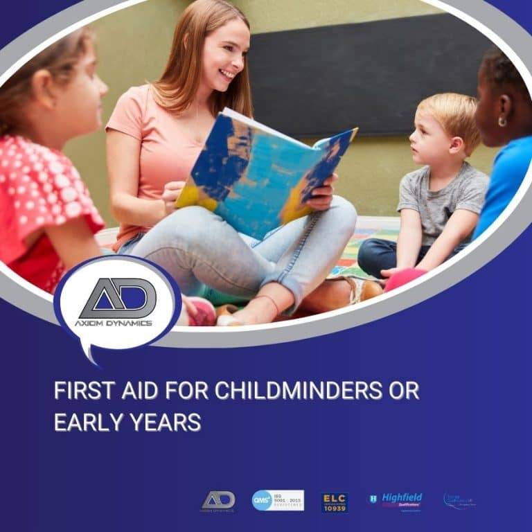 First Aid For Childminders Or Early Years  – Explained