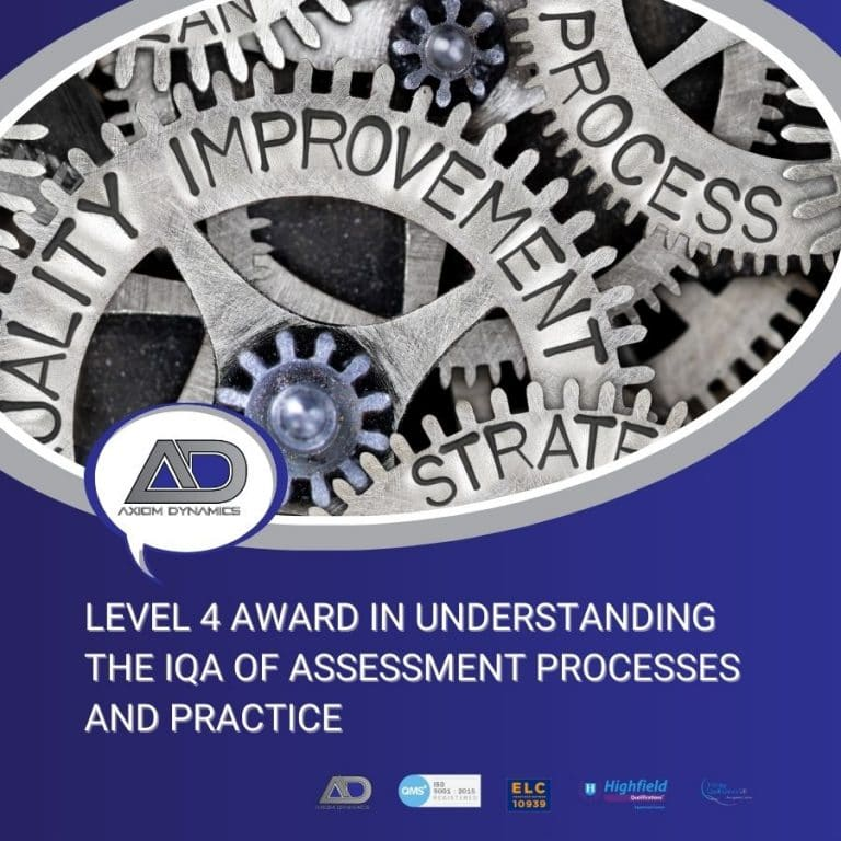 Understanding the IQA of Assessment Processes and Practice